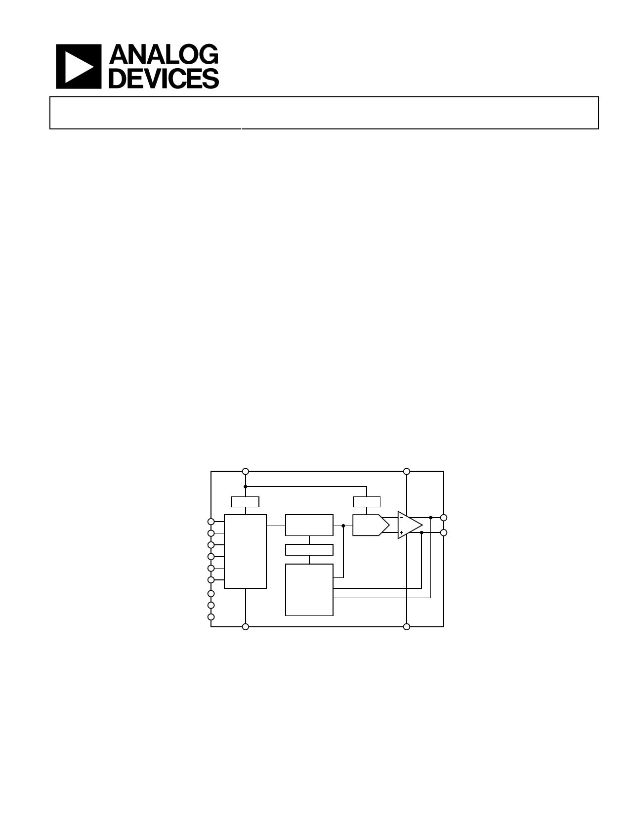 ADUX1001i دیتاشیت PDF