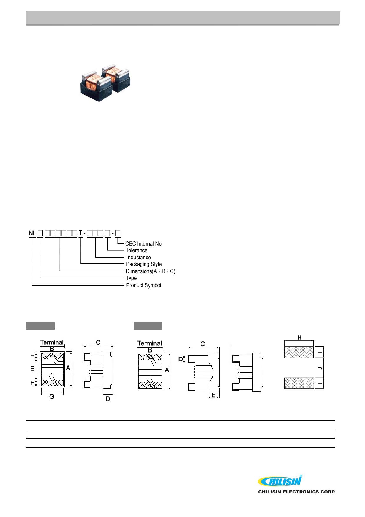 NL252018T 데이터시트 및 NL252018T PDF