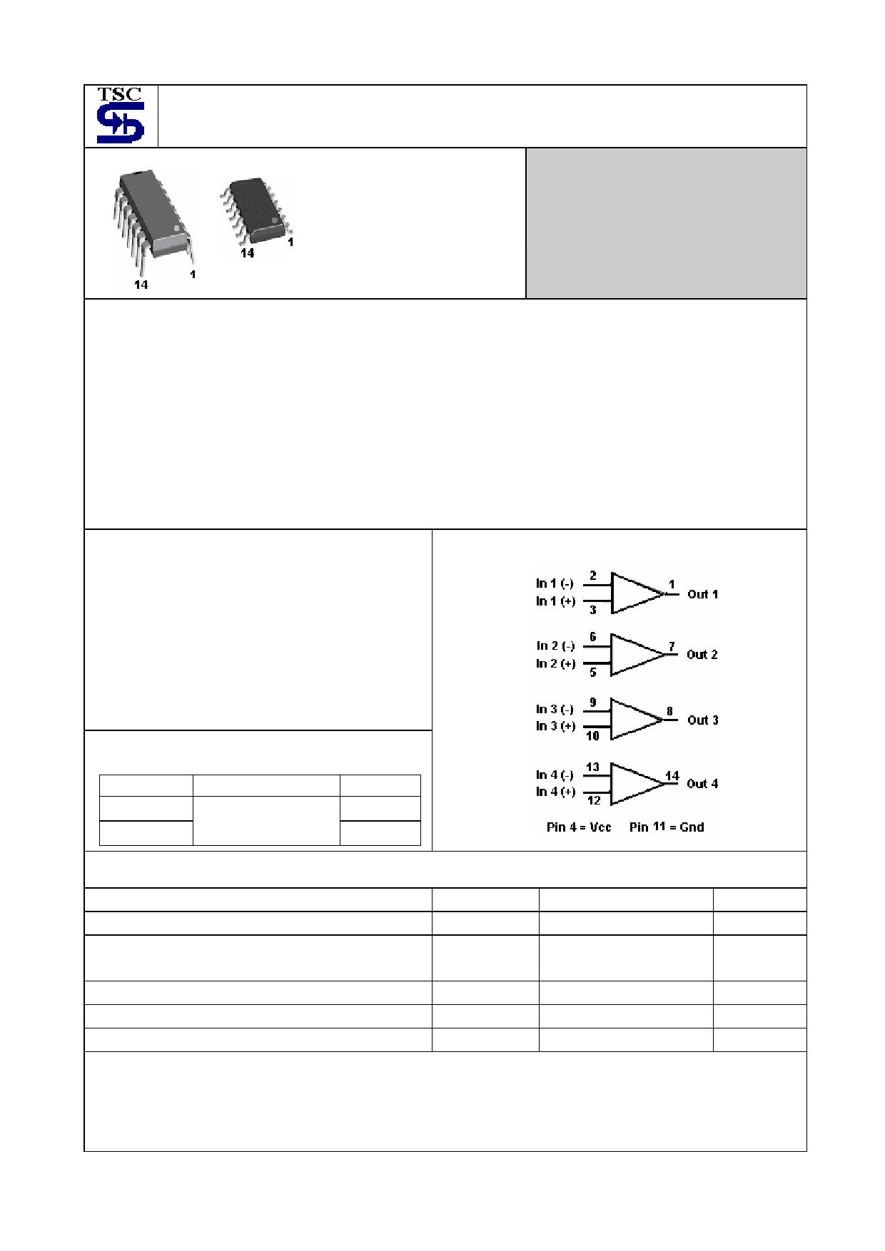 TS2902 Datasheet, TS2902 PDF,ピン配置, 機能