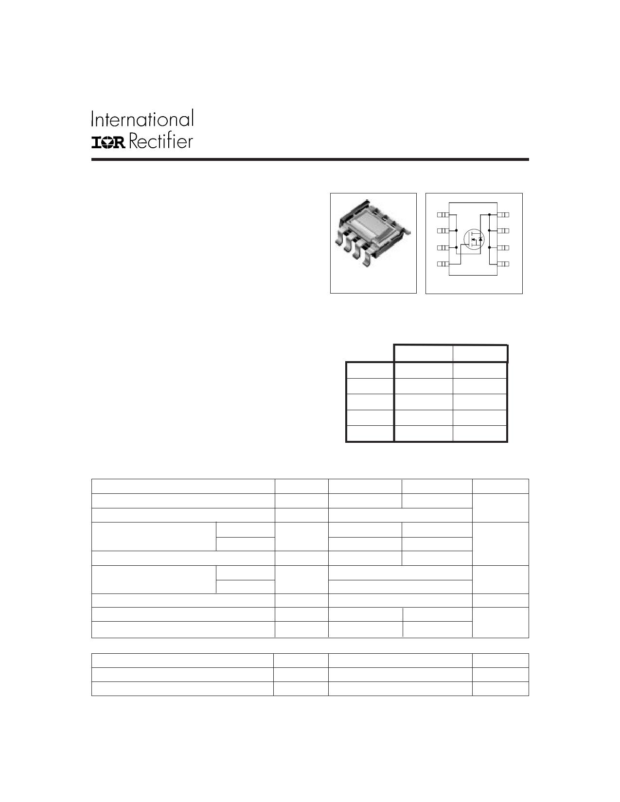 IRF7809 datasheet
