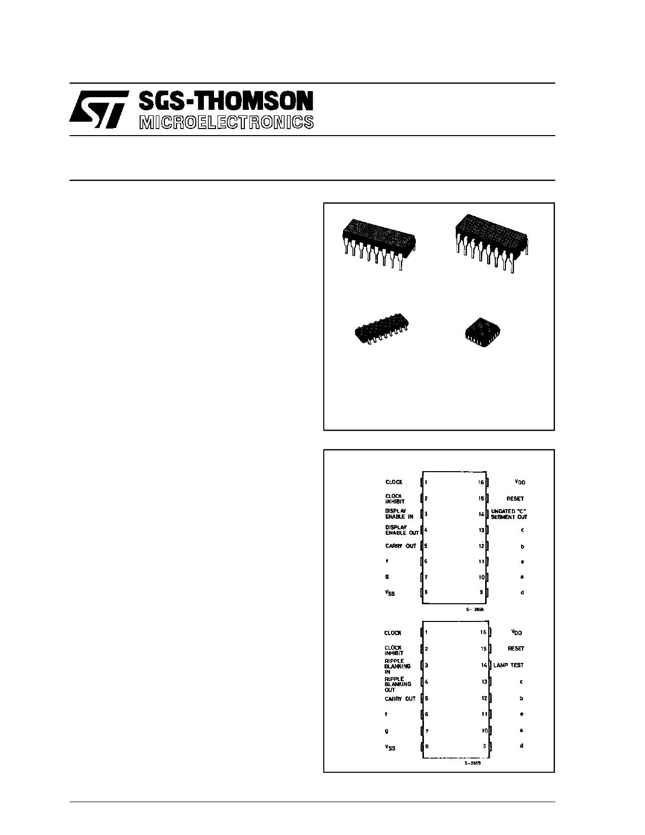 HCC4033BEY دیتاشیت PDF