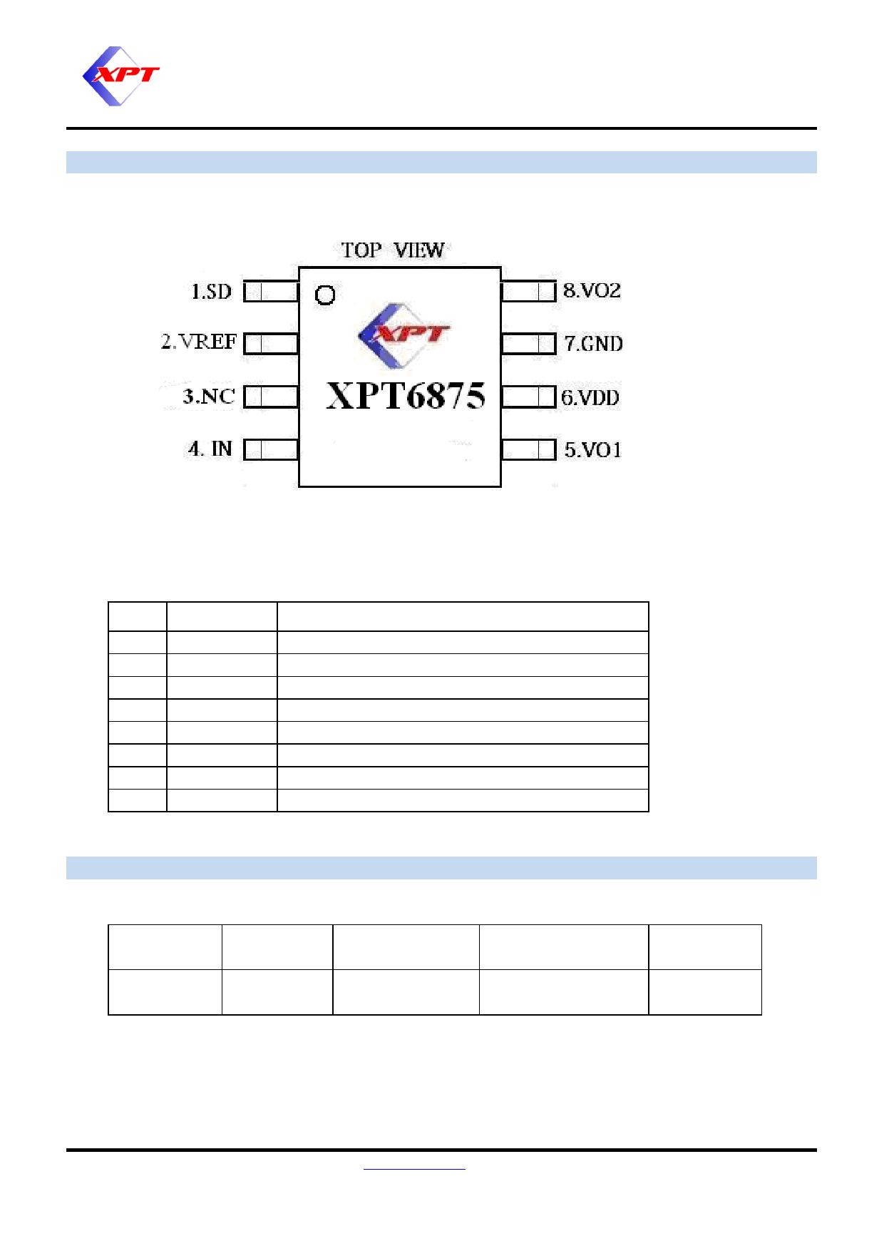 XPT6875 pdf