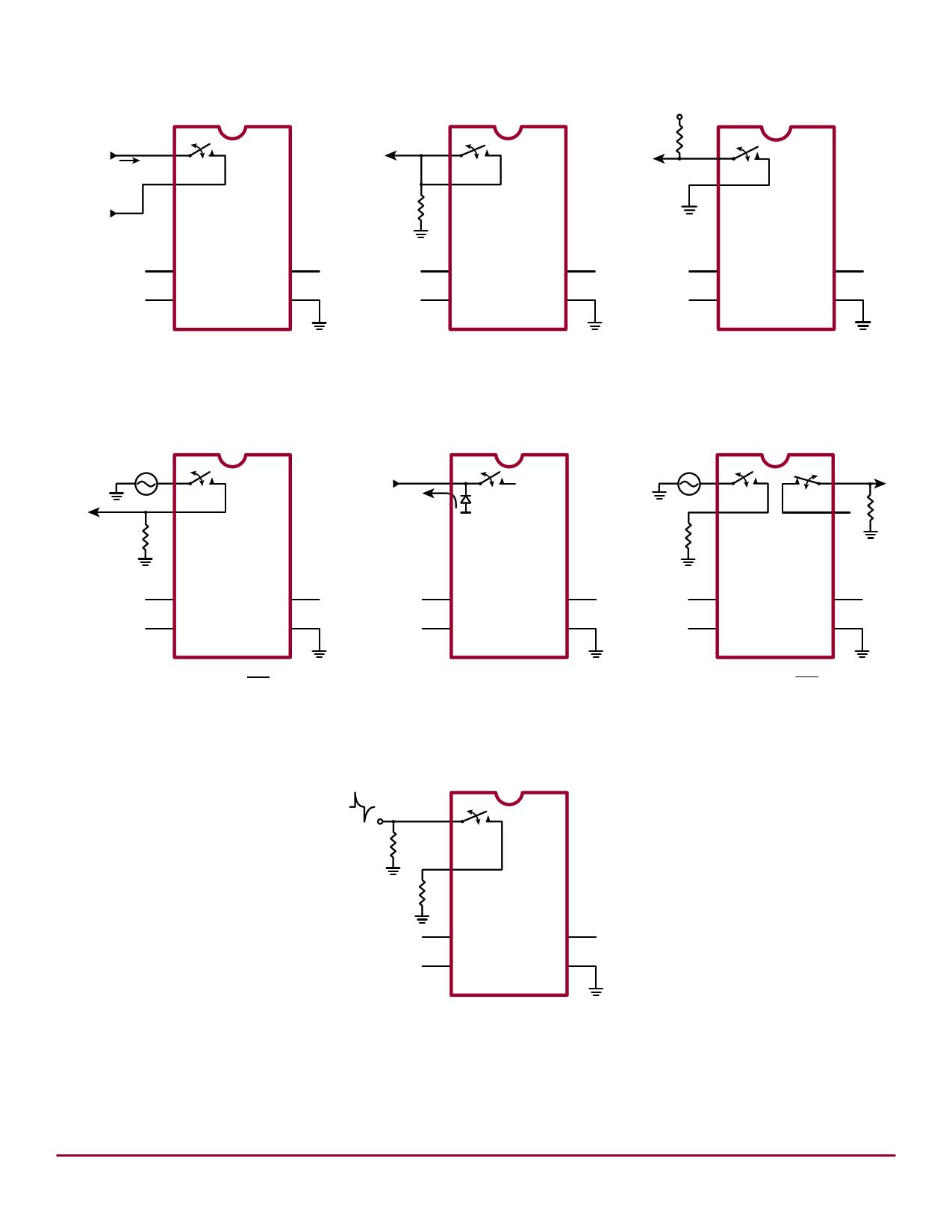HV214X 電子部品, 半導体
