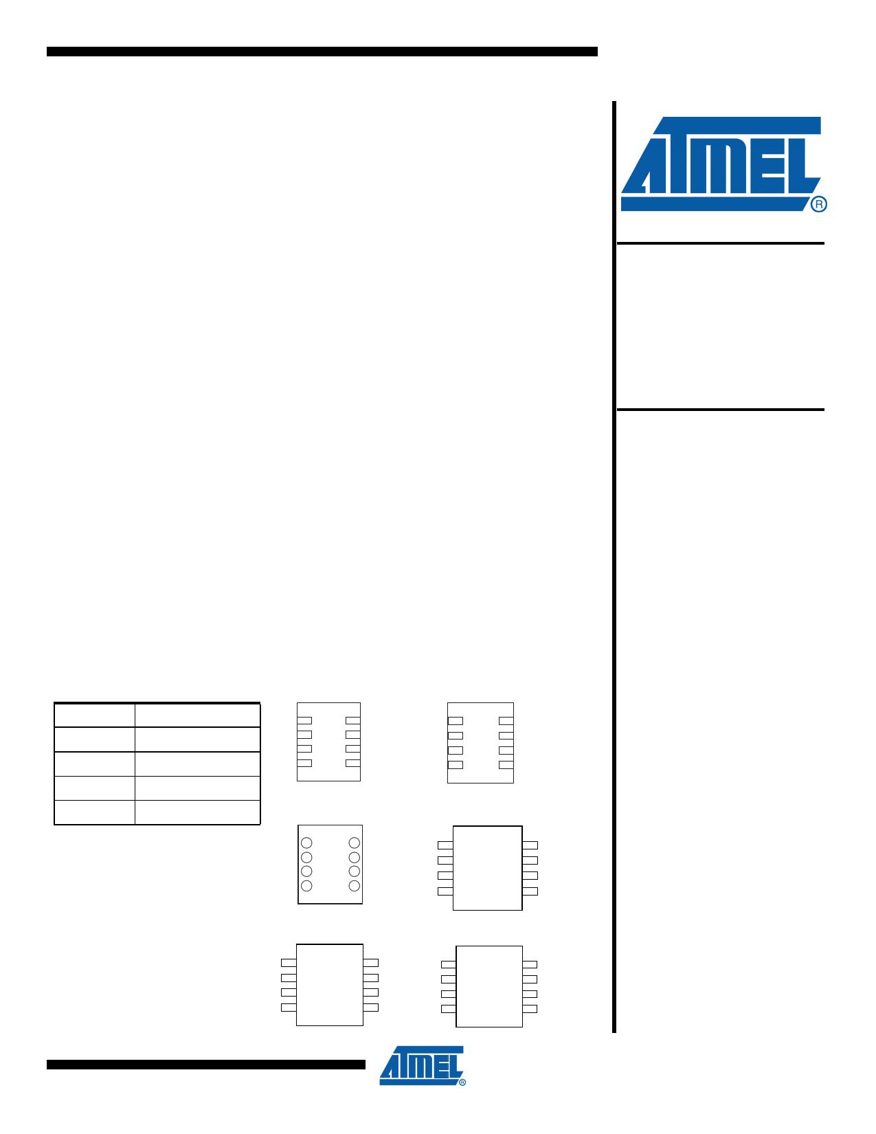 AT24C64C Datasheet, AT24C64C PDF,ピン配置, 機能