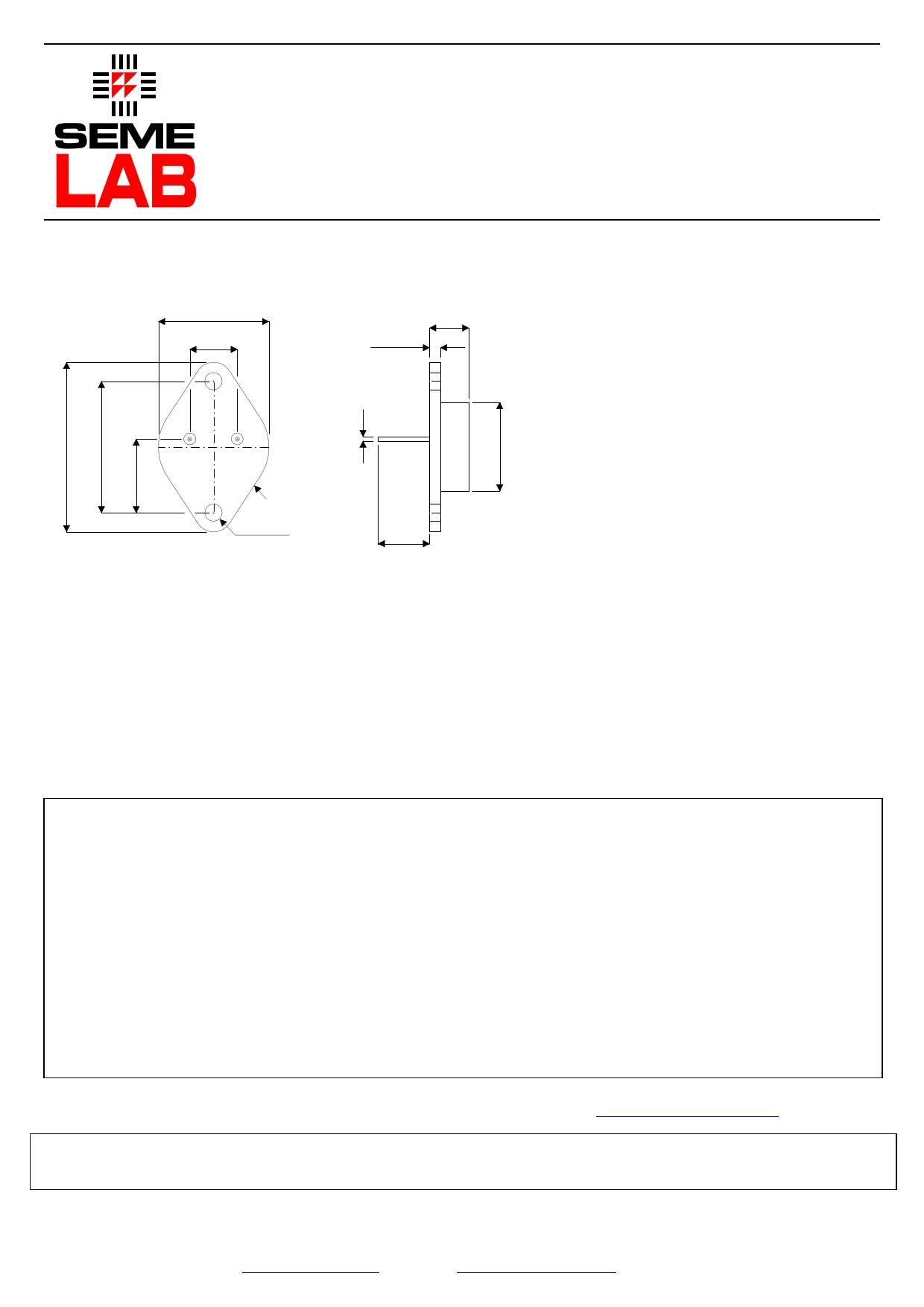 2N6287 دیتاشیت PDF