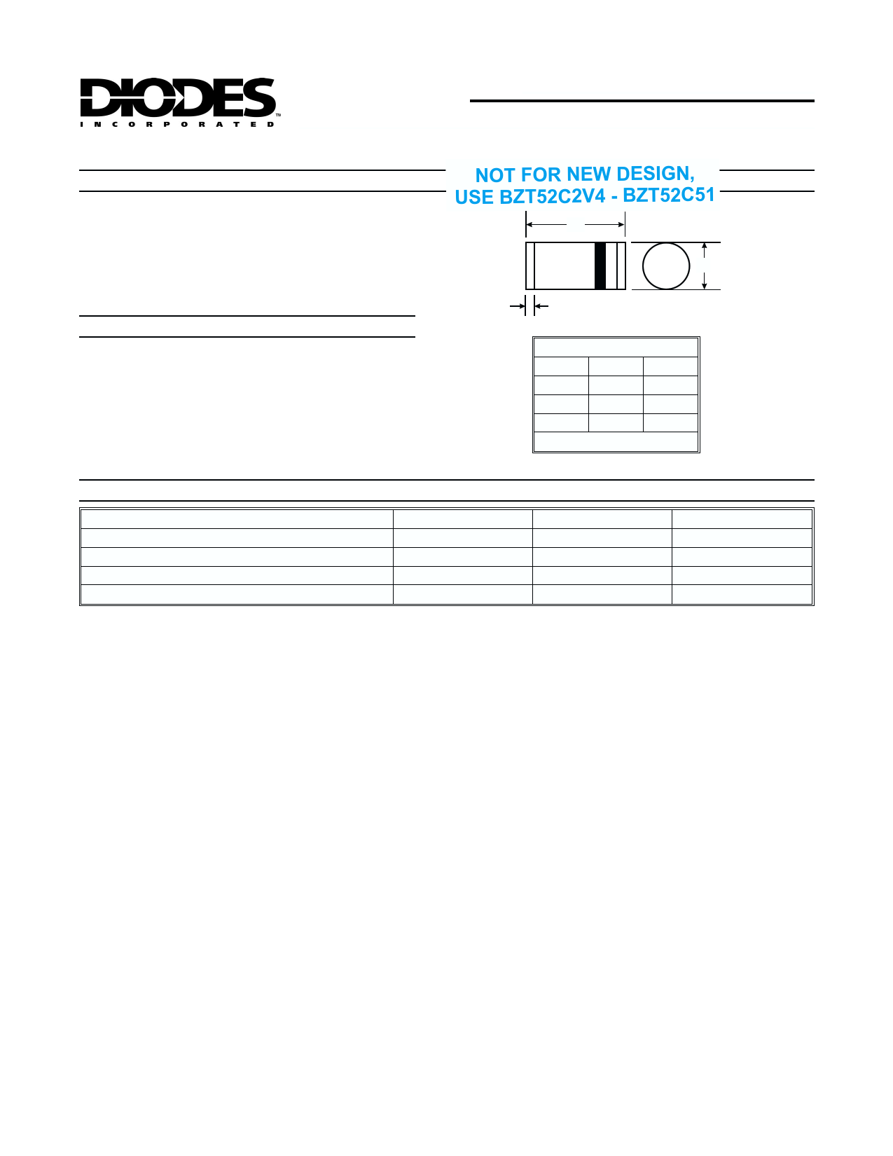 ZMM39 datasheet