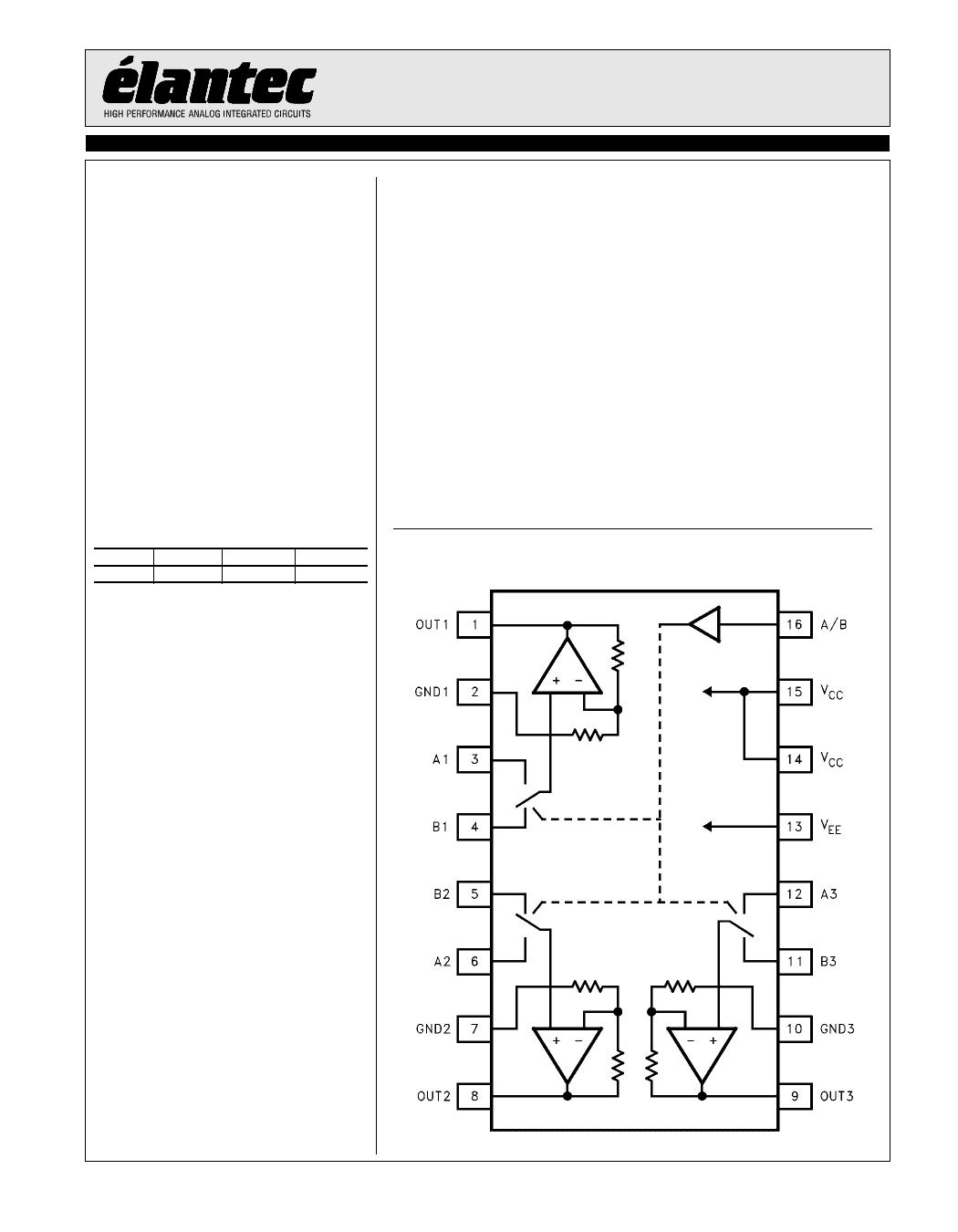 EL4332C دیتاشیت PDF