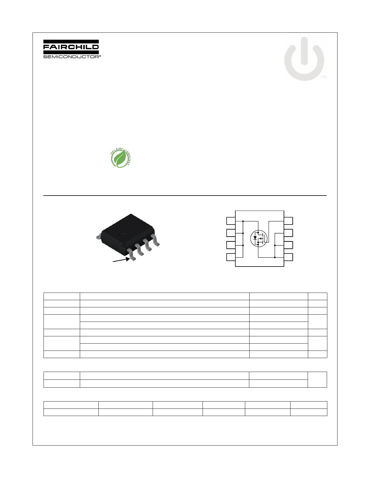 FDS4141 데이터시트 및 FDS4141 PDF