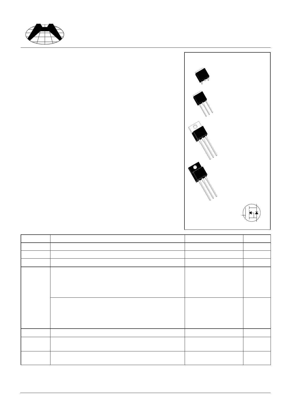H02N60S Hoja de datos, Descripción, Manual