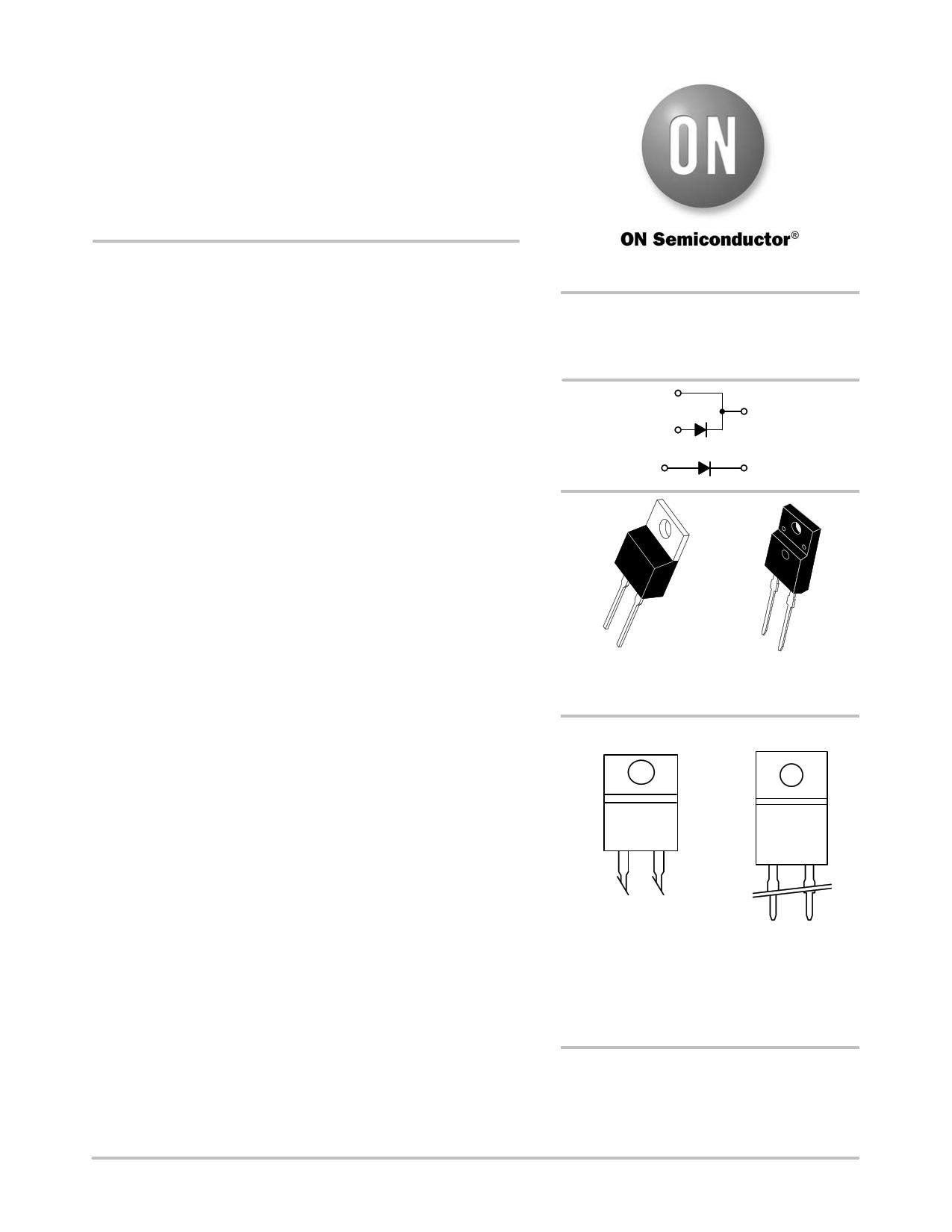 MUR860G datasheet