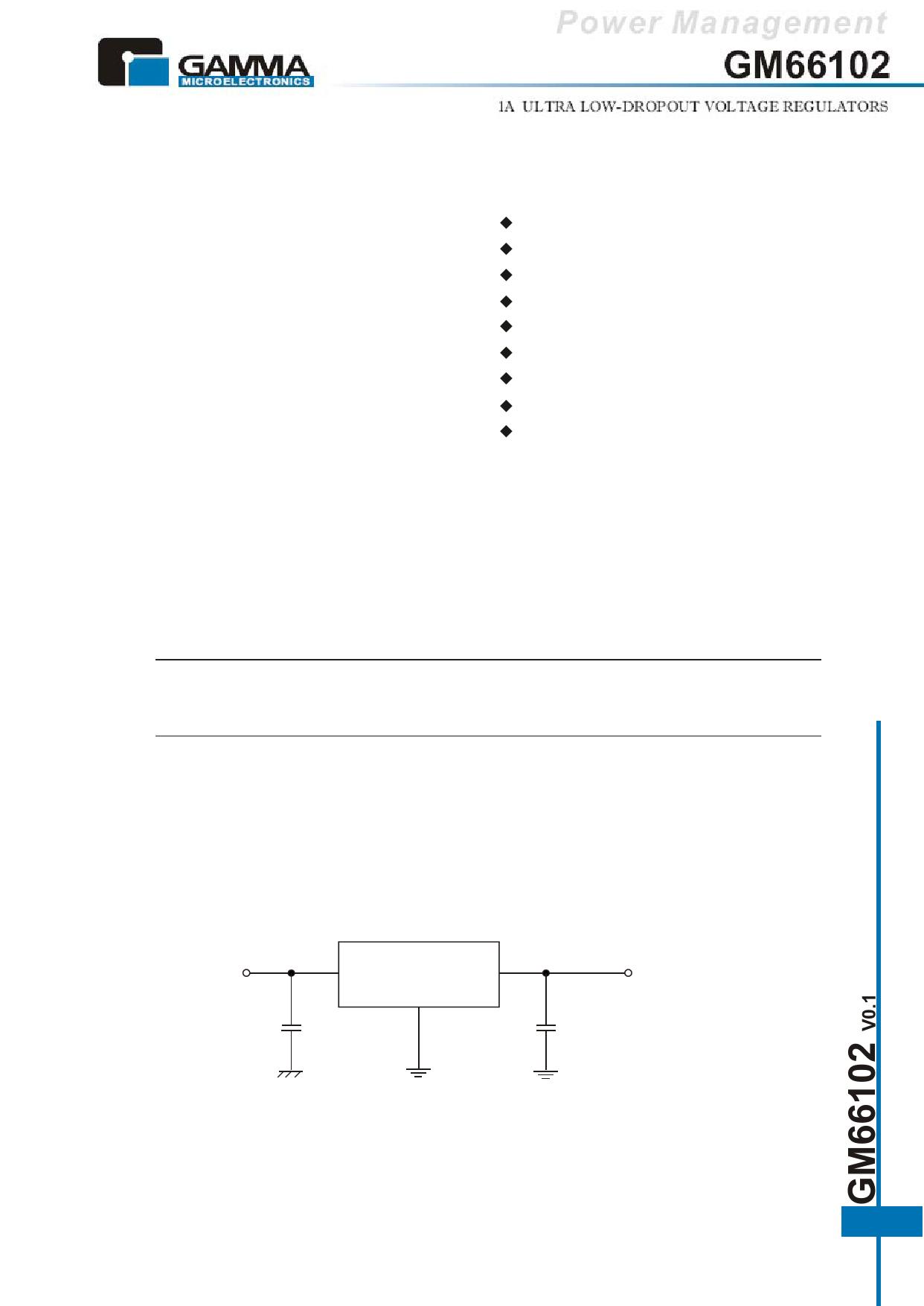 GM66102 datasheet