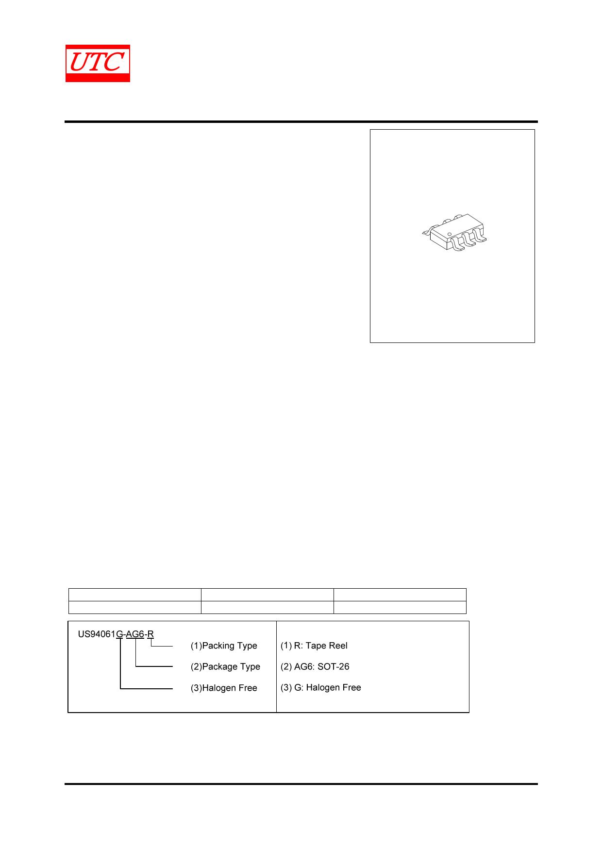 US94061 datasheet