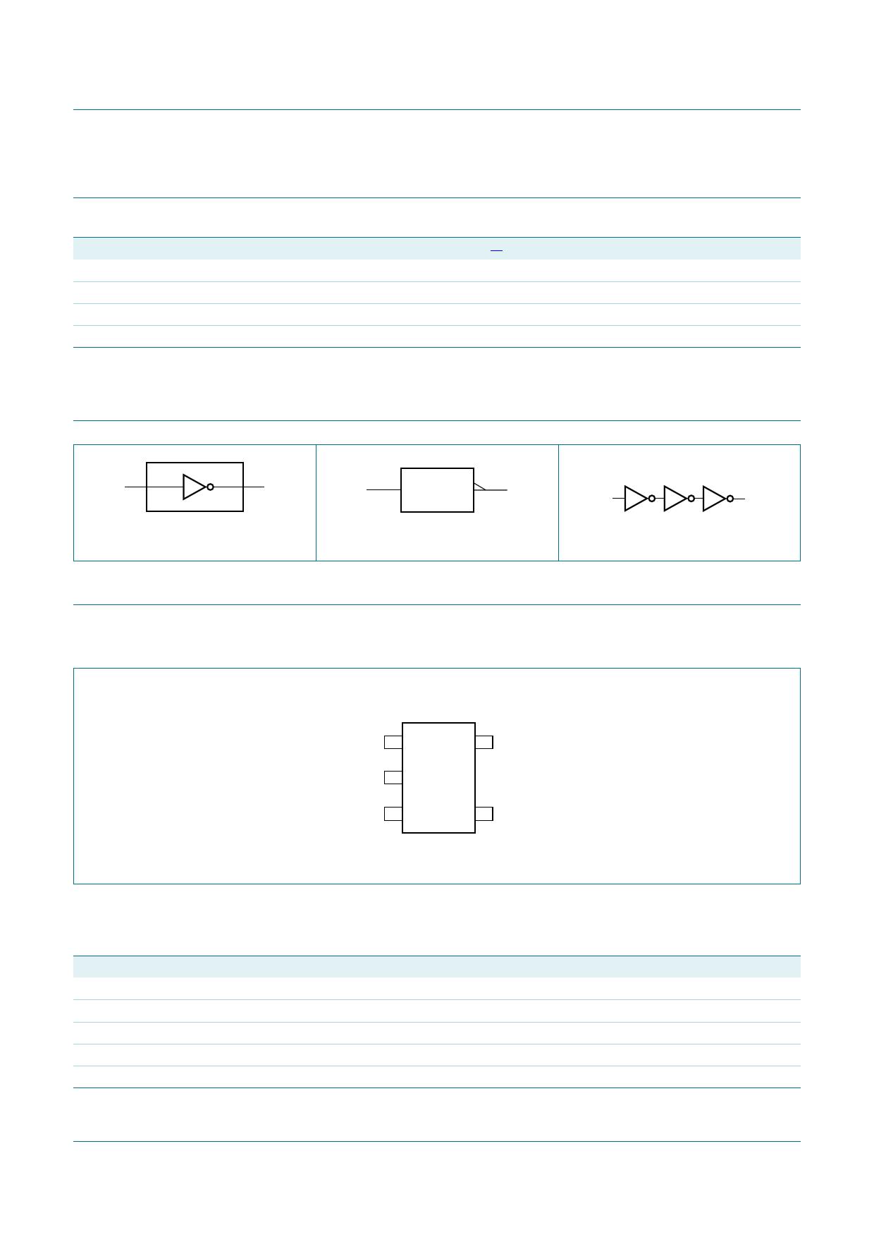 74HCT1G04 pdf, schematic