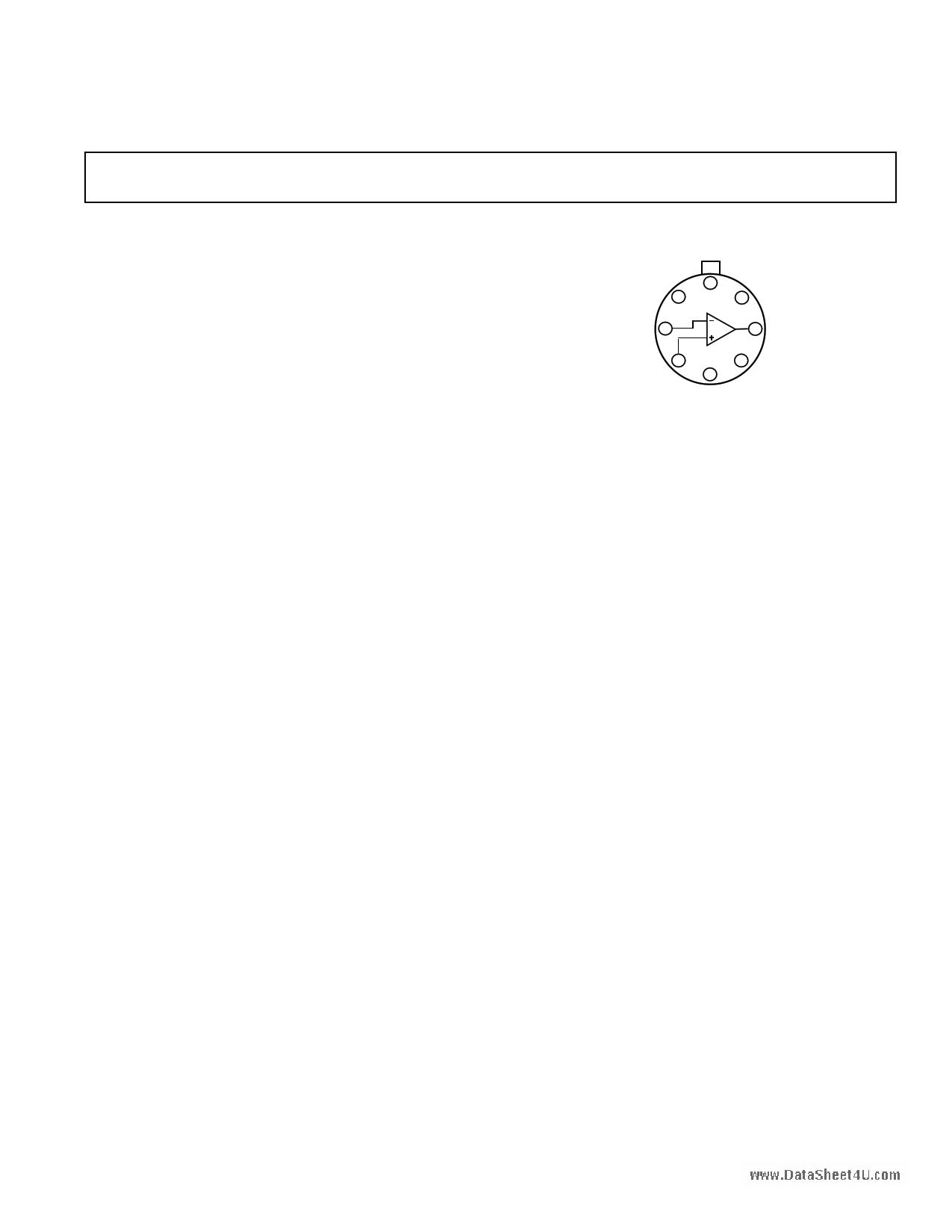 AD542 datasheet
