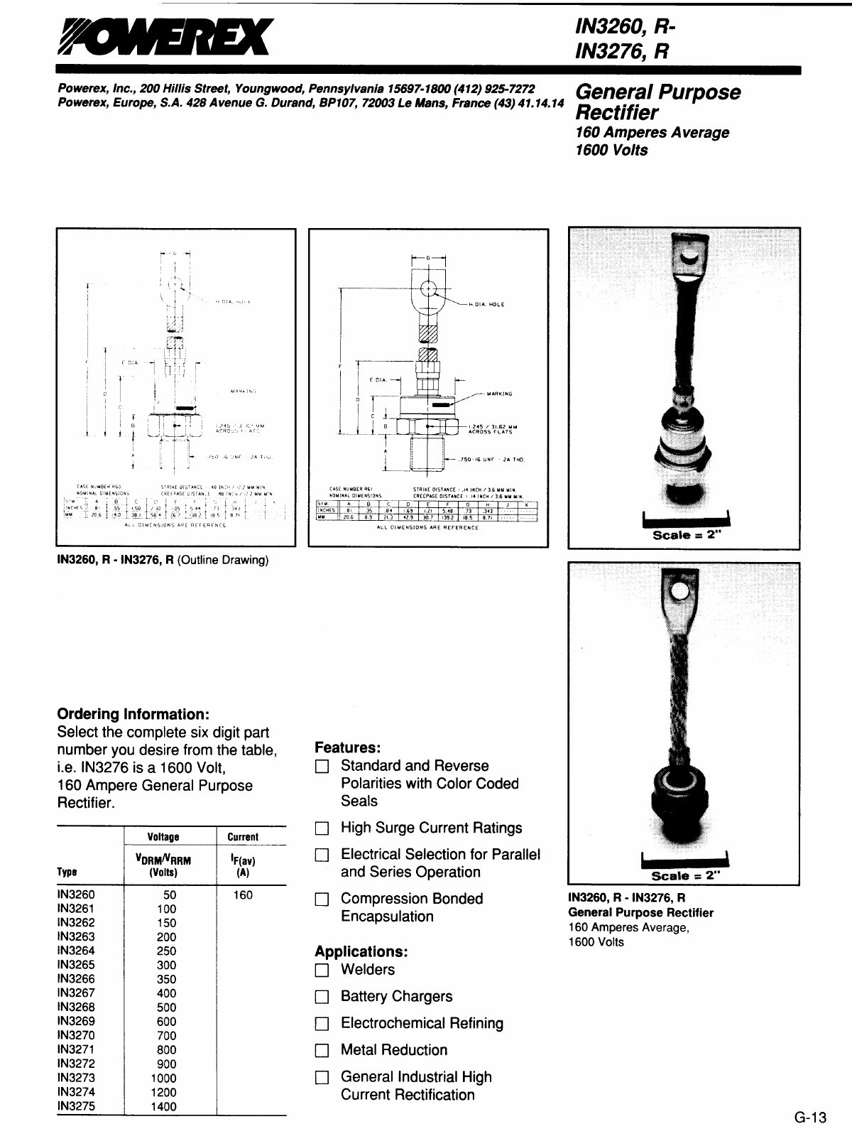 R-IN3261 datasheet