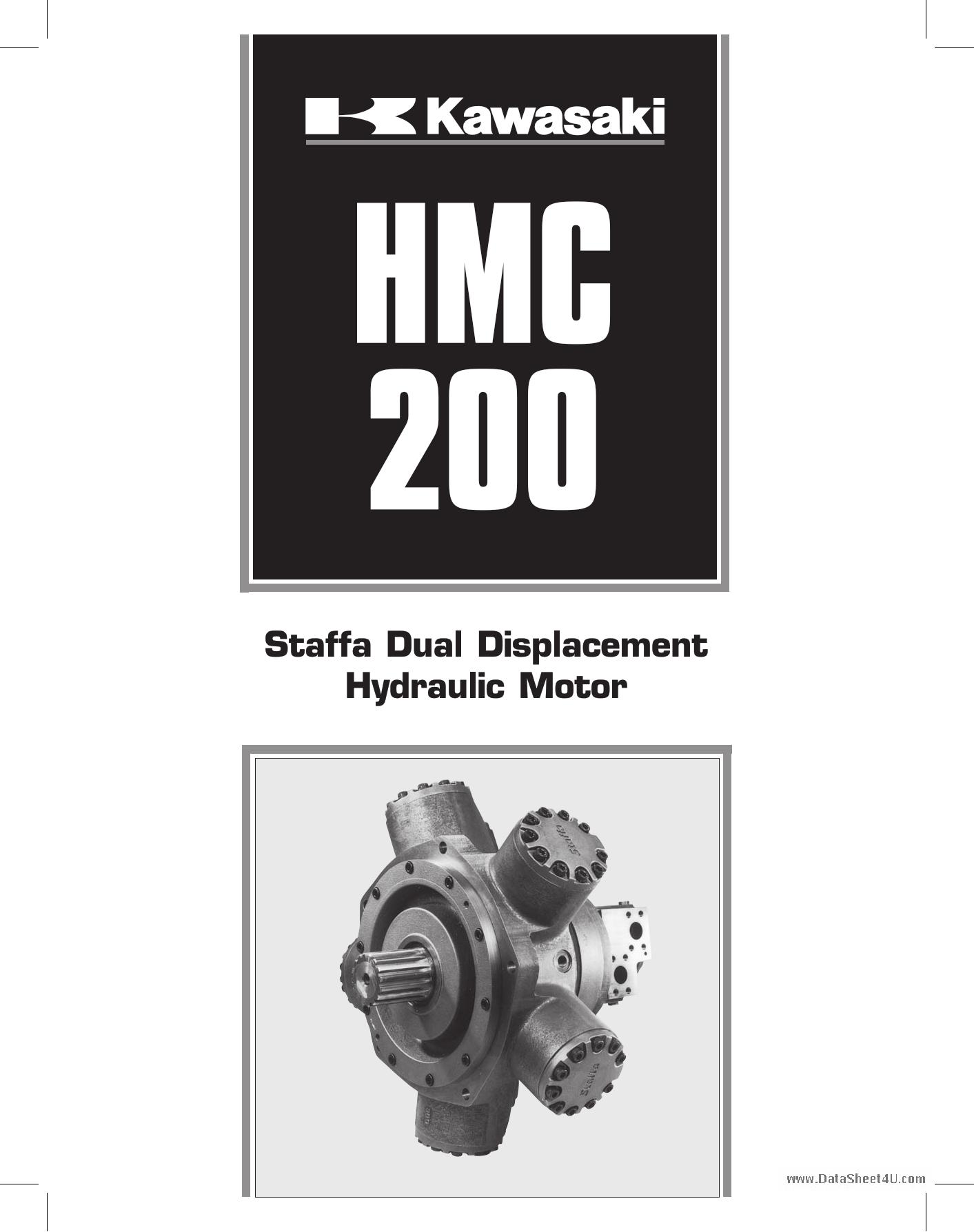 Dual Shaft Hydraulic Motor : Hmc データシート pdf staffa dual displacement hydraulic motor
