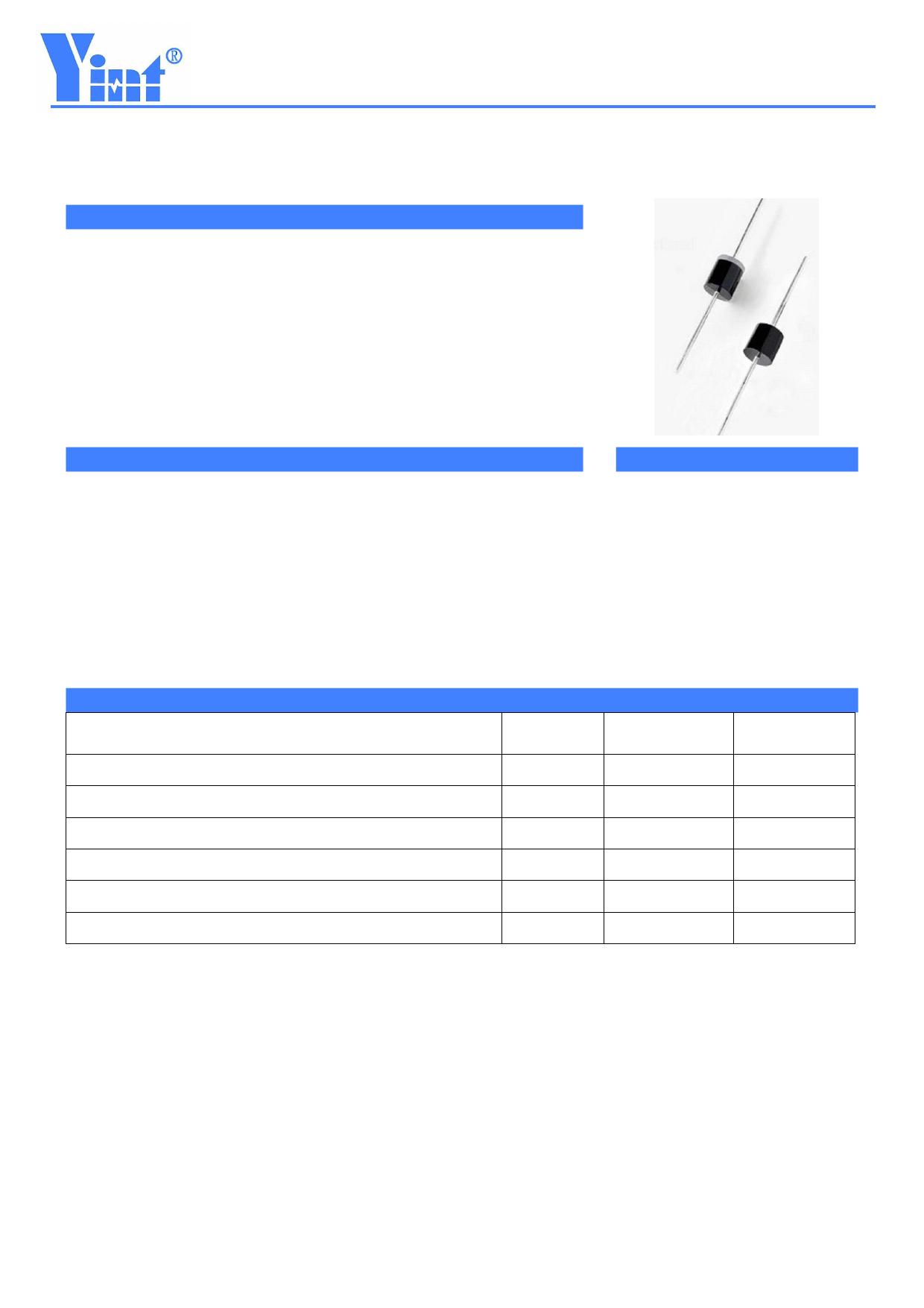 3.0KP120CA Hoja de datos, Descripción, Manual