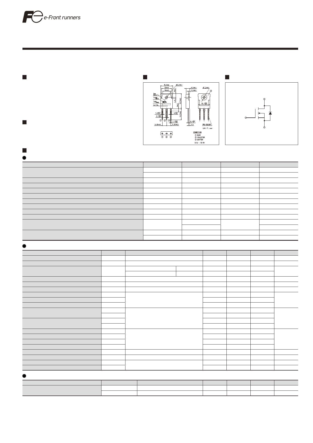 FMH23N50ES دیتاشیت PDF