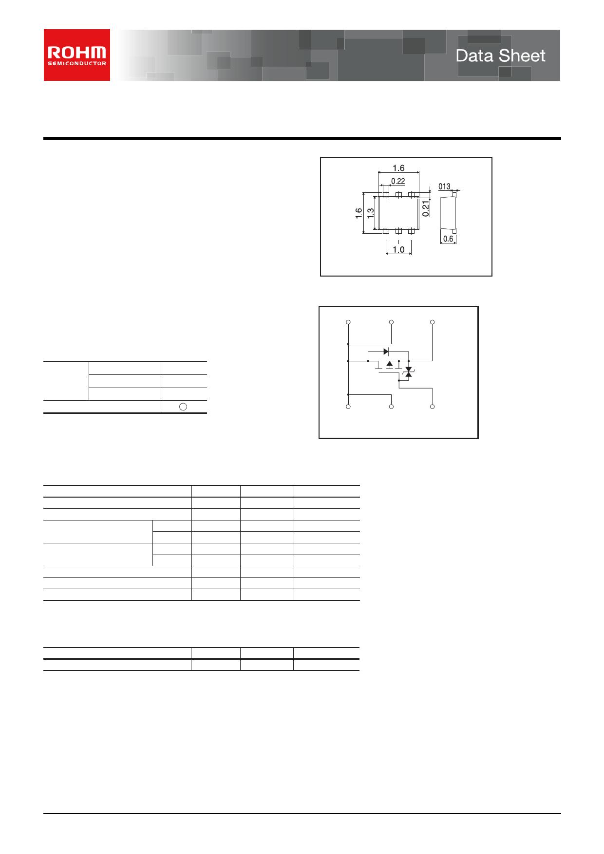 RW1A020ZP Datenblatt PDF