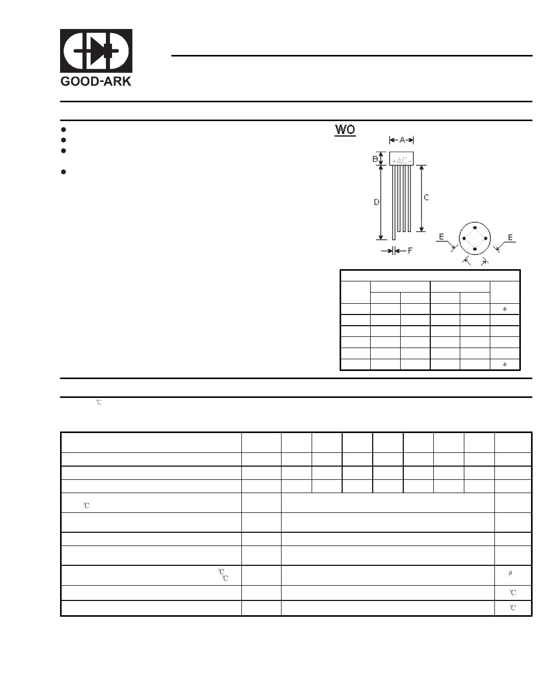 W005 даташит PDF