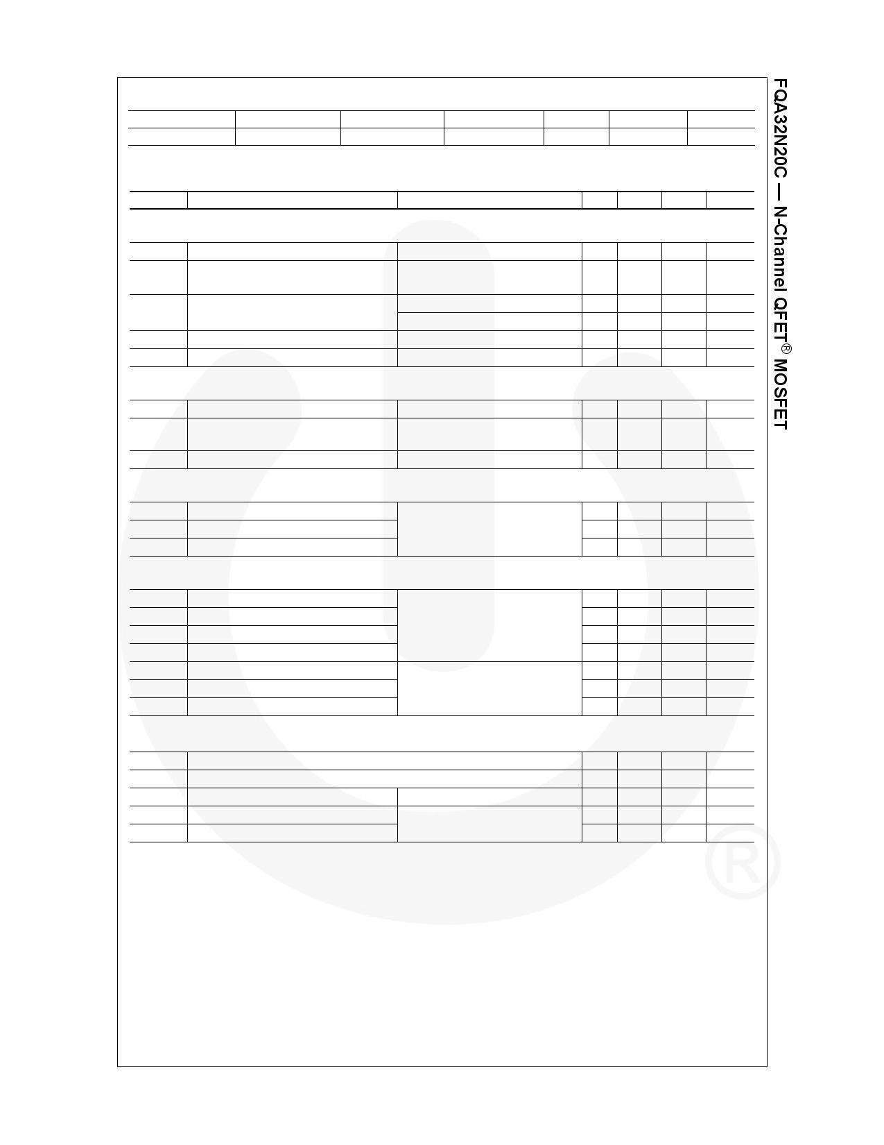 FQA32N20C pdf, equivalent, schematic