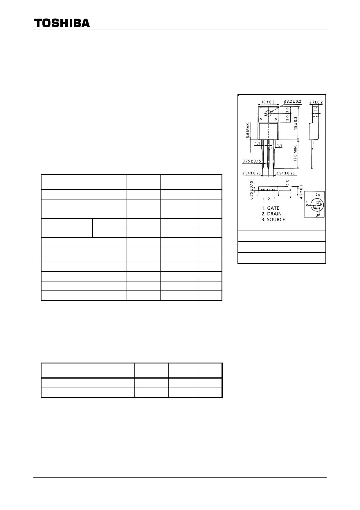 K3265 datasheet image