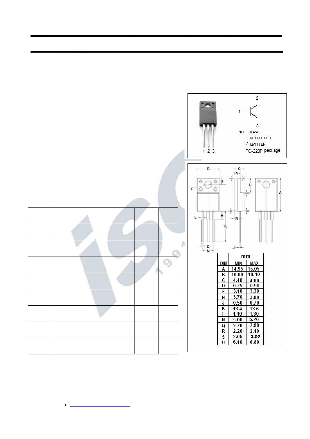 KTB1368 Datasheet, KTB1368 PDF,ピン配置, 機能