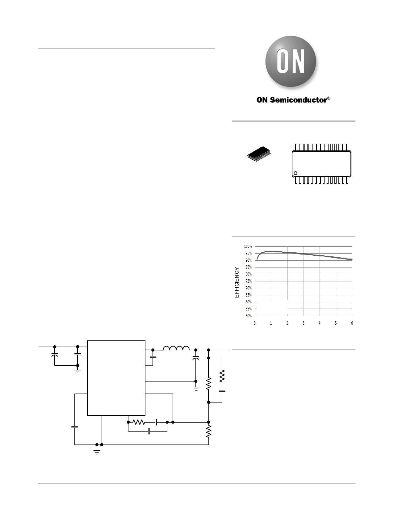 NCP1592 دیتاشیت PDF