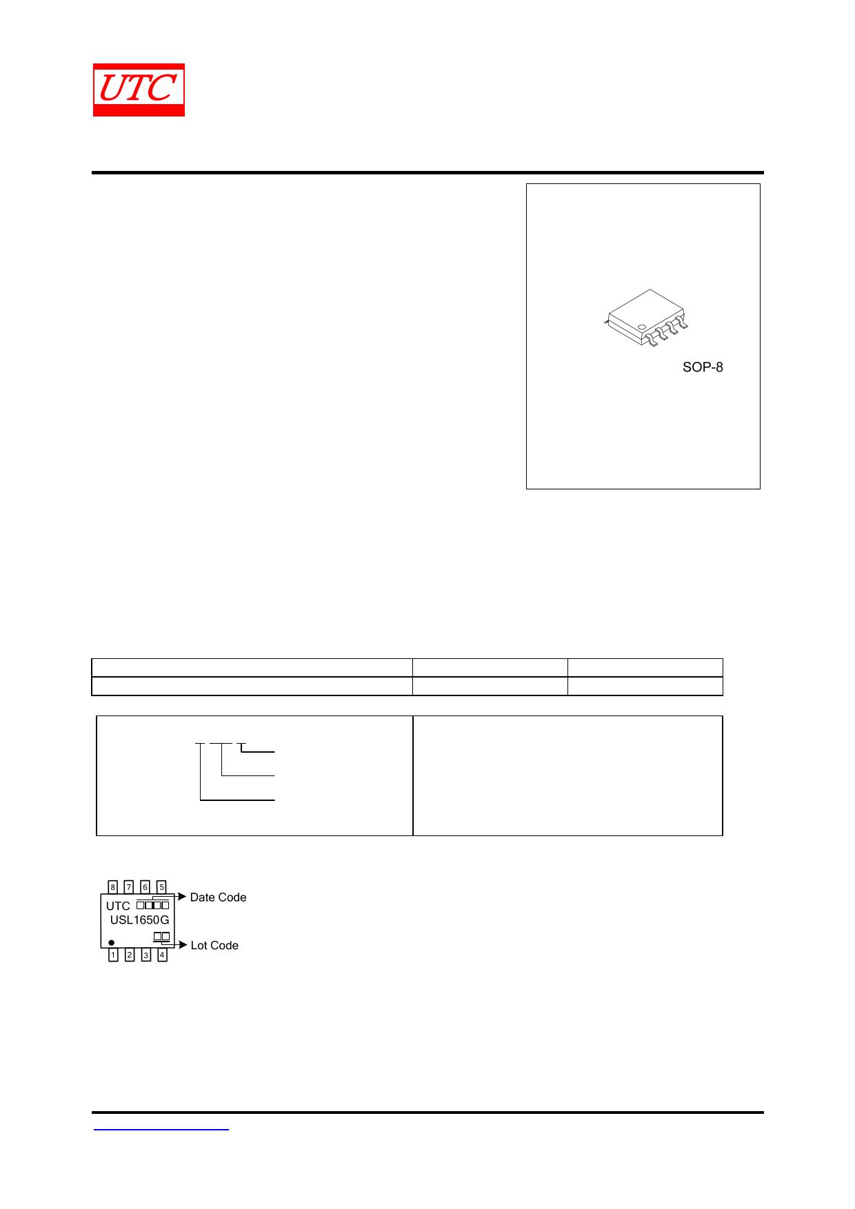 USL1650 datasheet