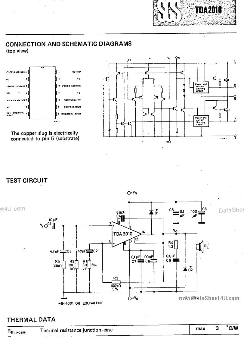 TDA2010 pdf schematic