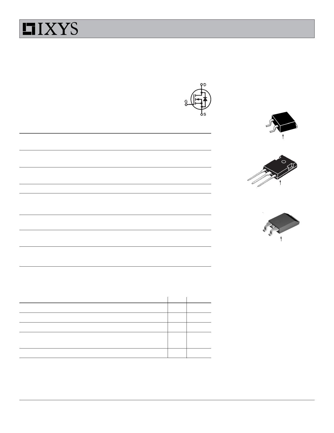 IXTA02N250 Datasheet, IXTA02N250 PDF,ピン配置, 機能