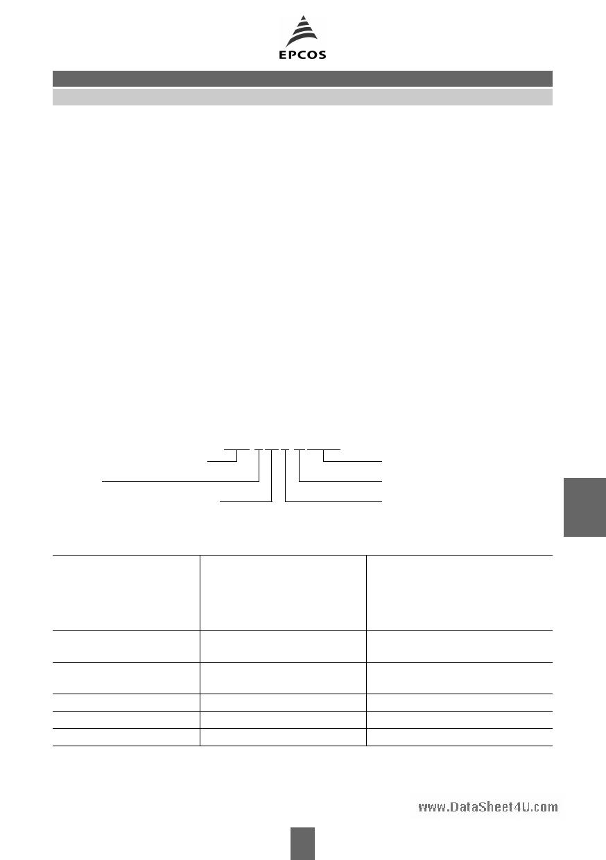 B72214S1140K503 Datasheet, B72214S1140K503 PDF,ピン配置, 機能