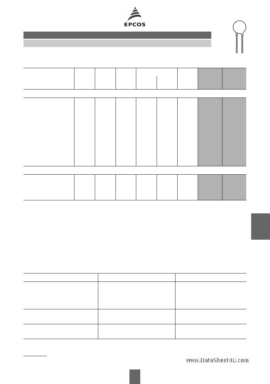 B72214S1140K503 pdf, ピン配列
