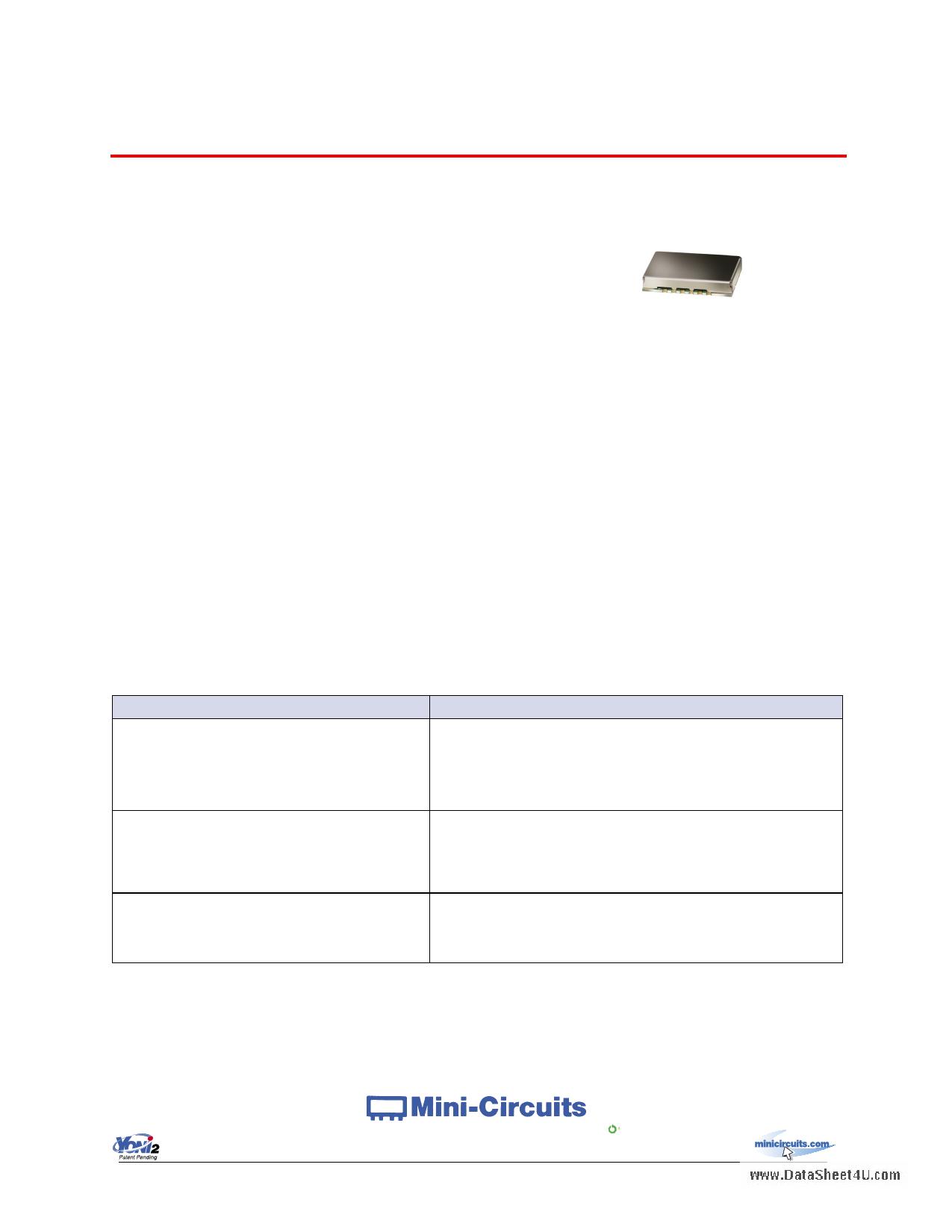 KSN-915A-119+ datasheet