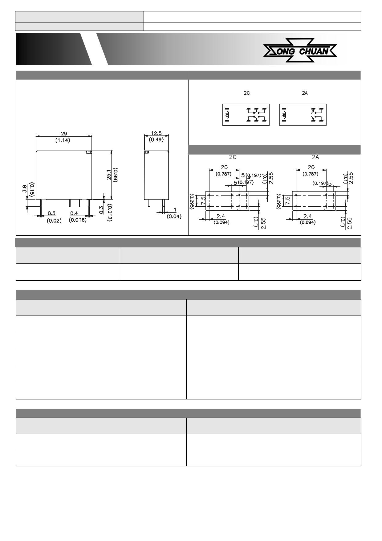 894-2AC1-F-S pdf, ピン配列