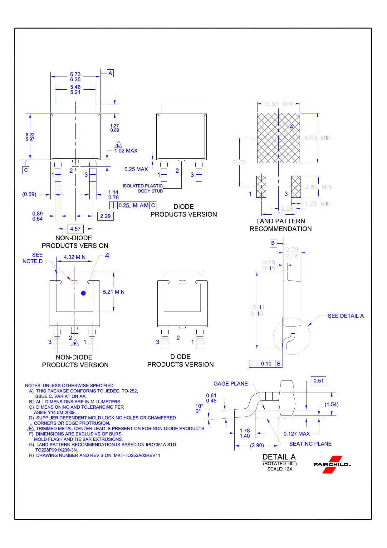 FCU850N80Z diode, scr