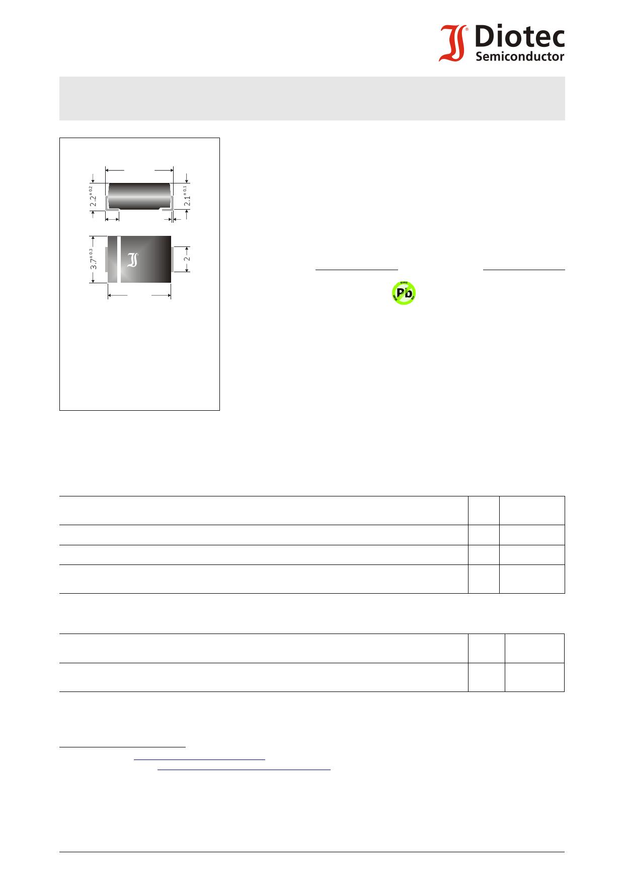 P6SMBJ40C دیتاشیت PDF