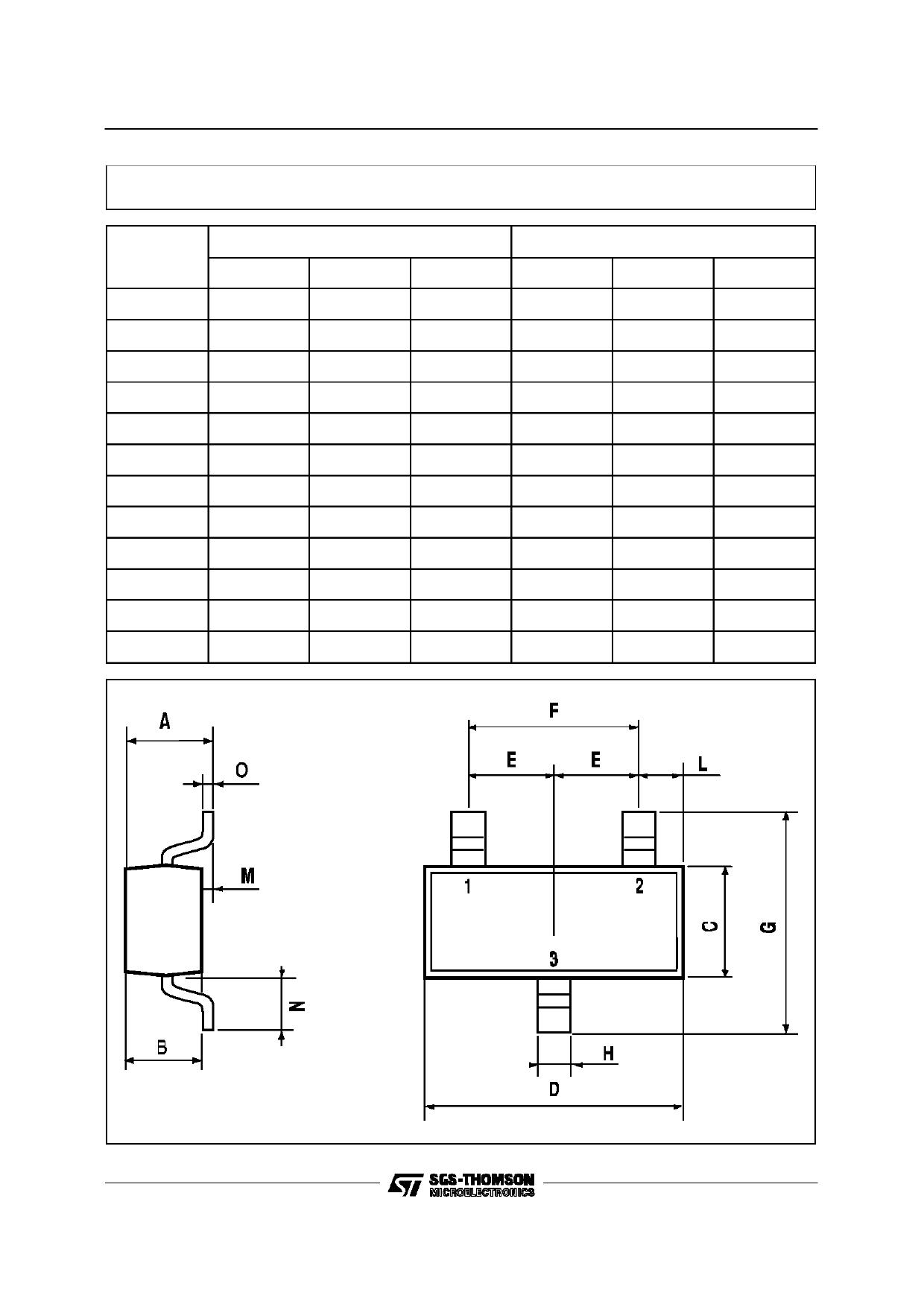 BC847 pdf, ピン配列