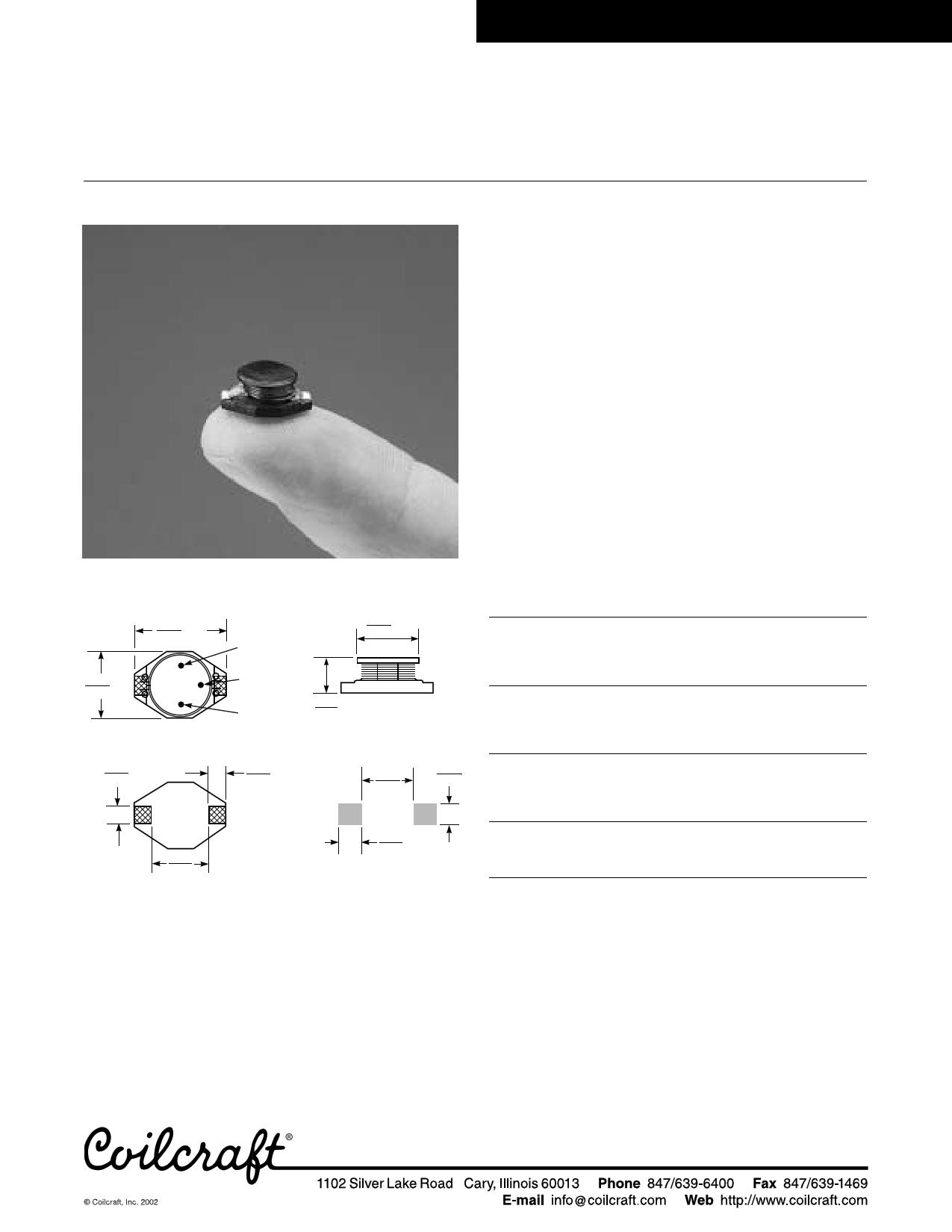 D03316 datasheet