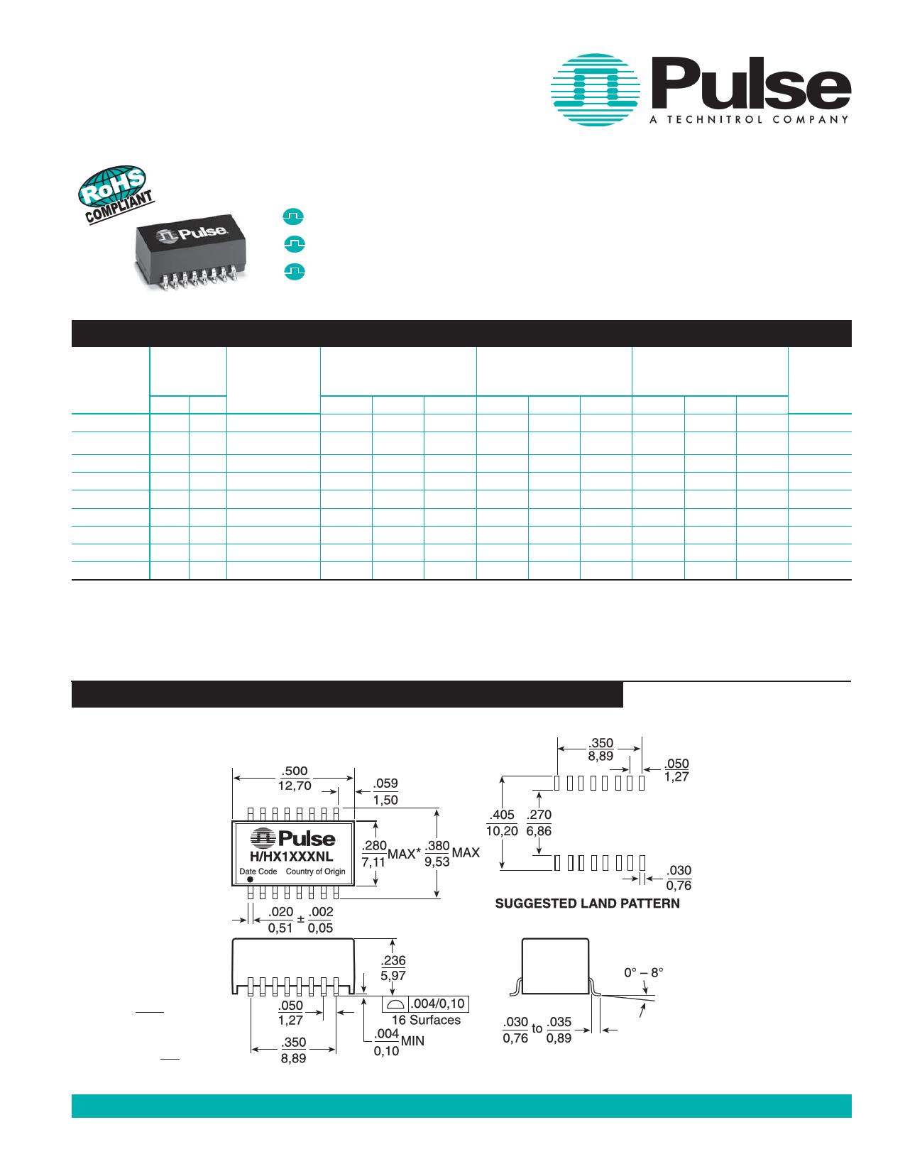 H1100NL دیتاشیت PDF