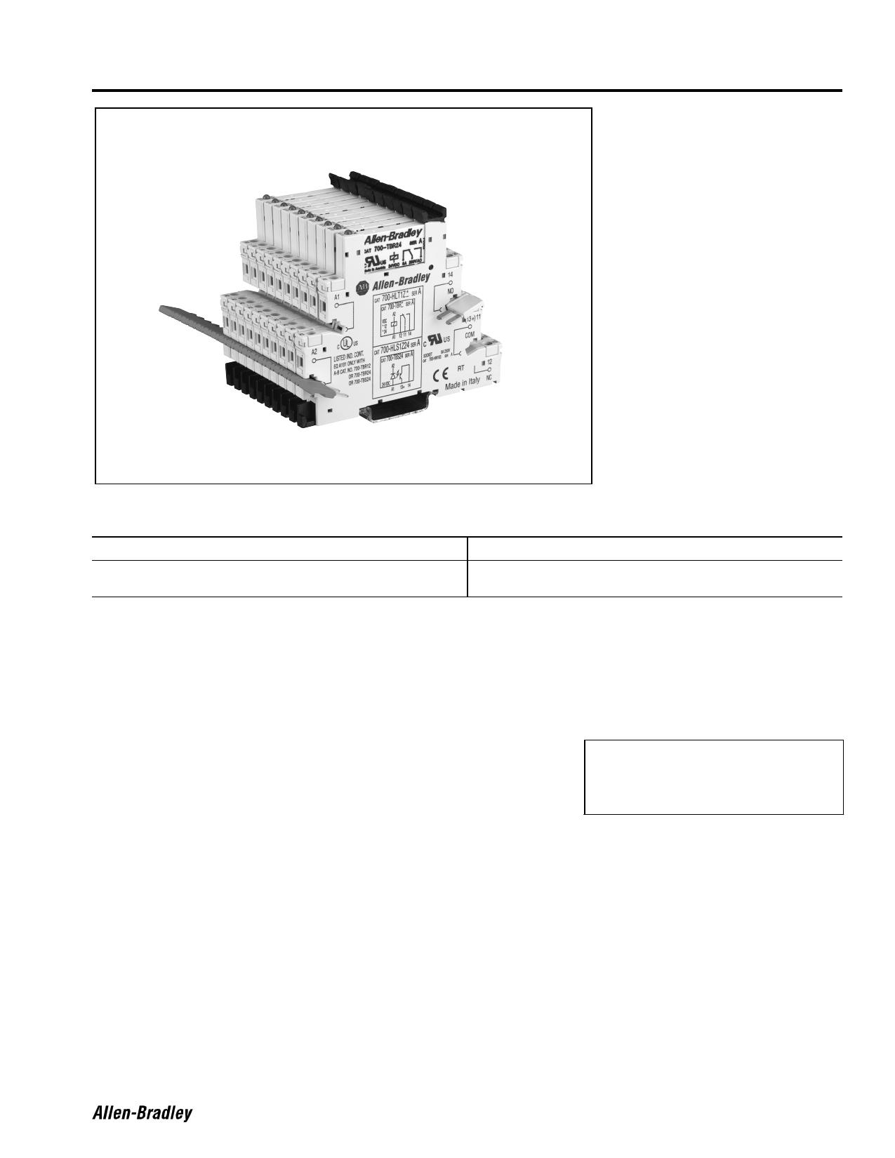 700-HL دیتاشیت PDF