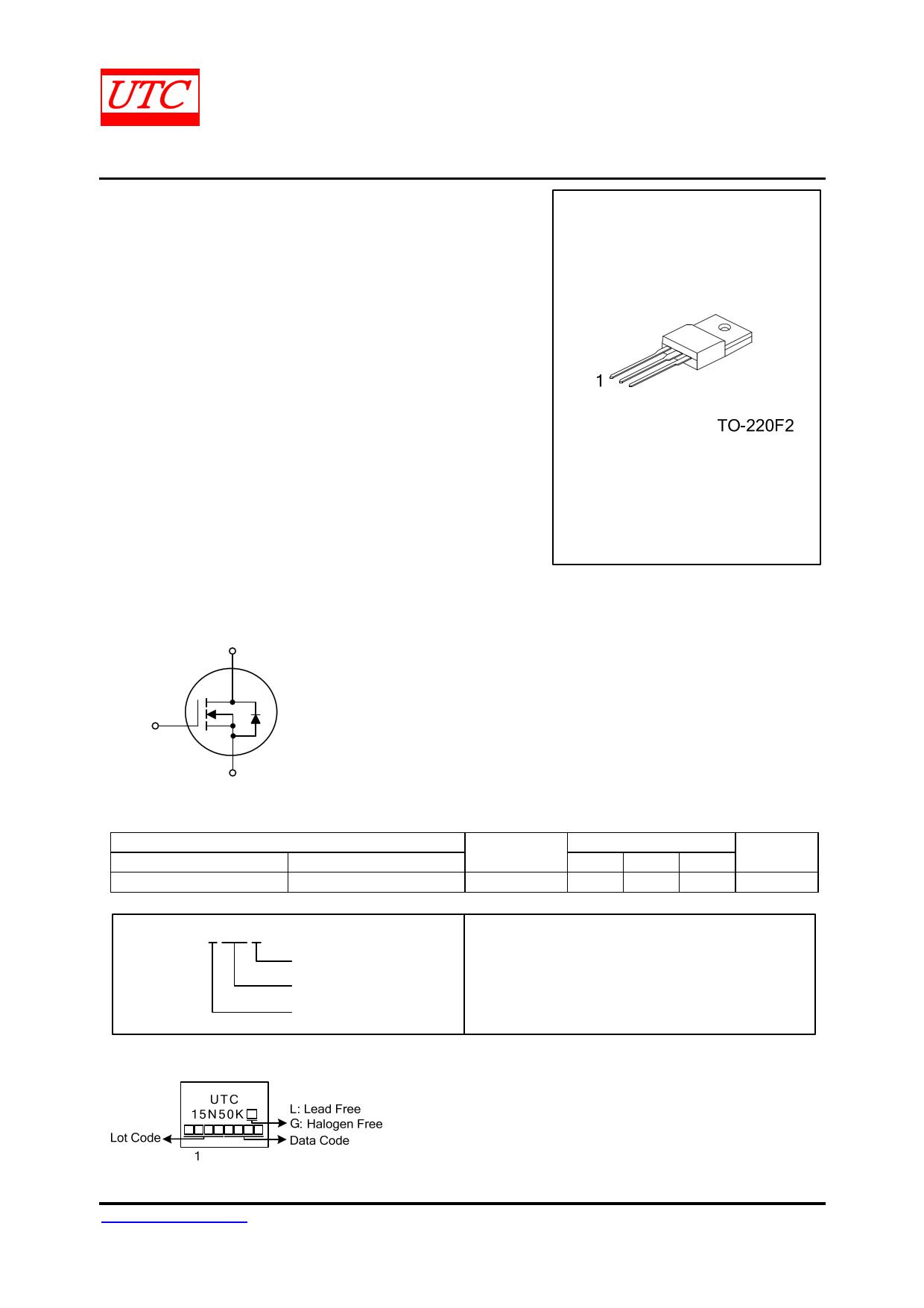 15N50K-MT datasheet