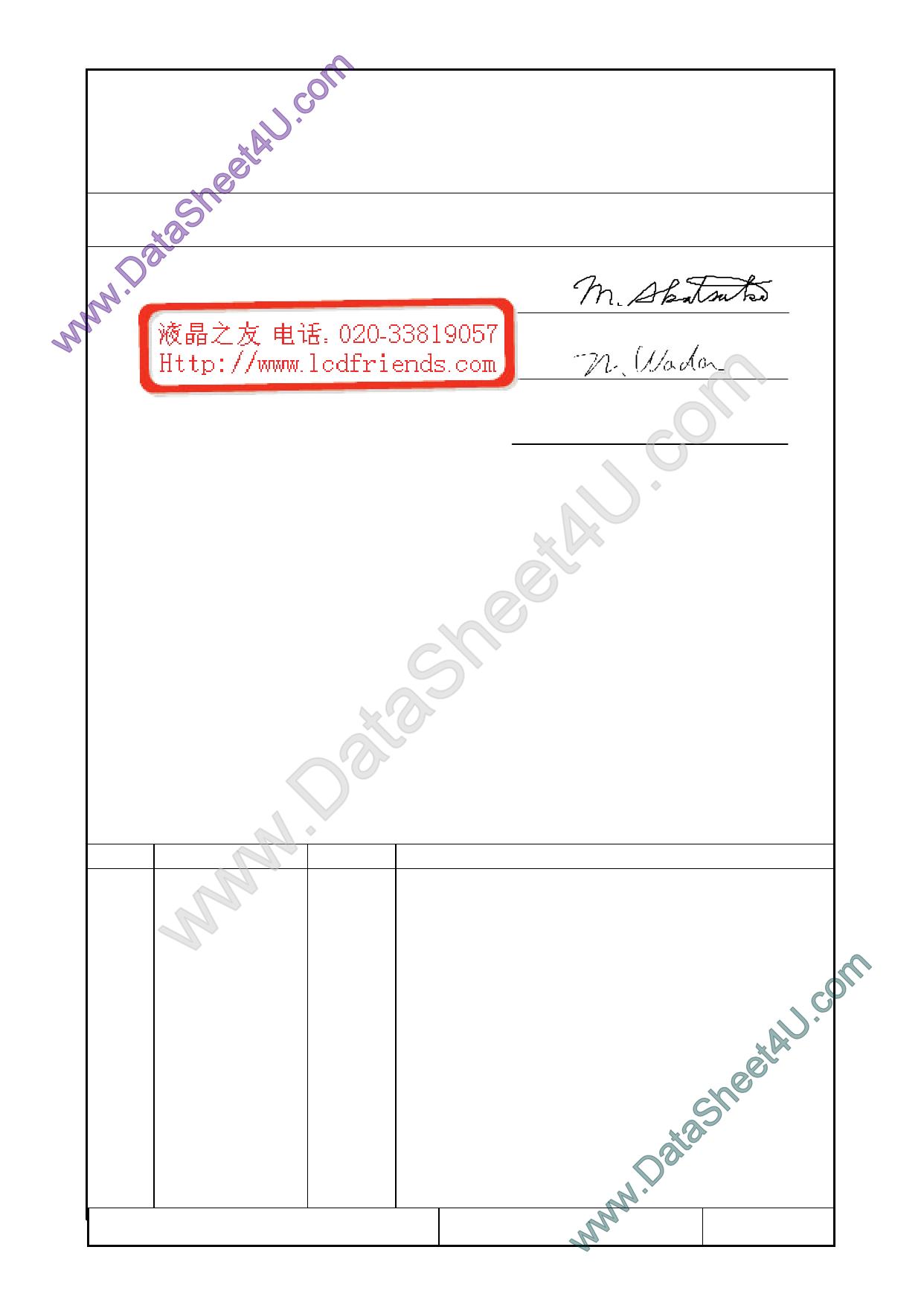 F-51852GNFQJ-LW-AAN Hoja de datos, Descripción, Manual