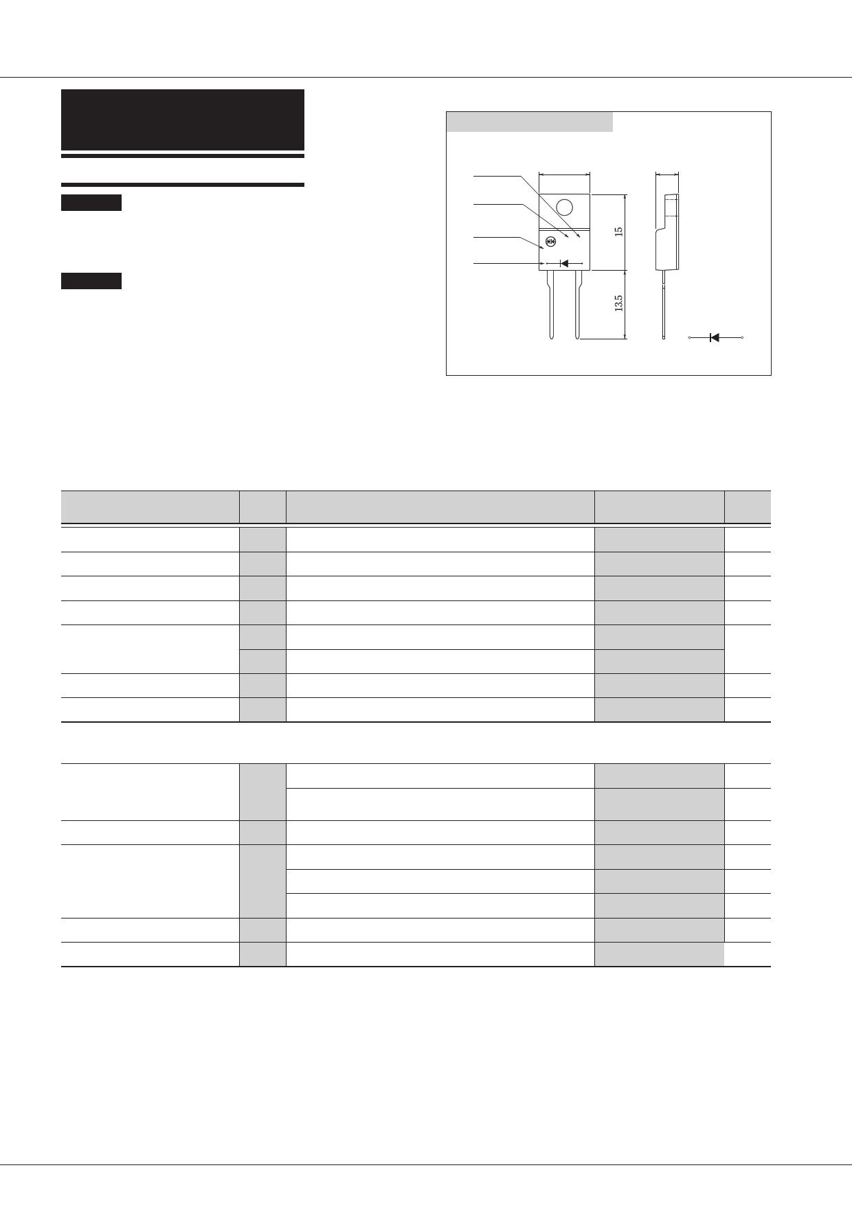 F8K60M Datasheet, F8K60M PDF,ピン配置, 機能