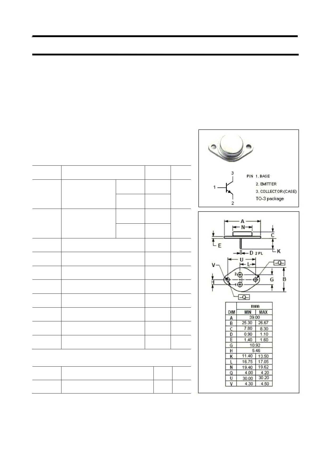 BUS133 Datasheet, BUS133 PDF,ピン配置, 機能