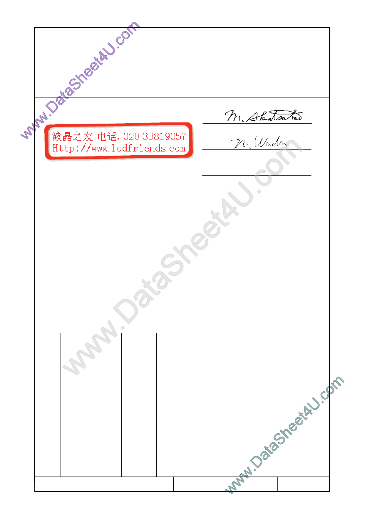 F-51852GNFJ-SLW-AEN Даташит, Описание, Даташиты