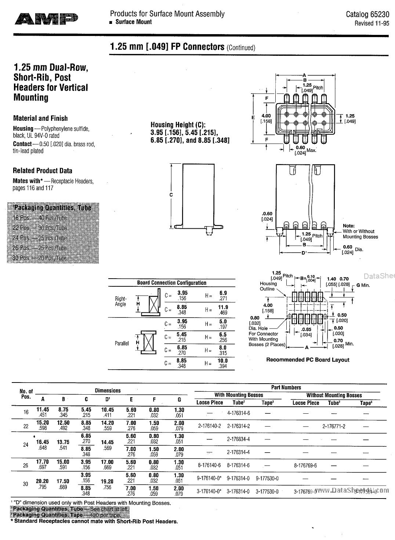 9-176140-0 دیتاشیت PDF