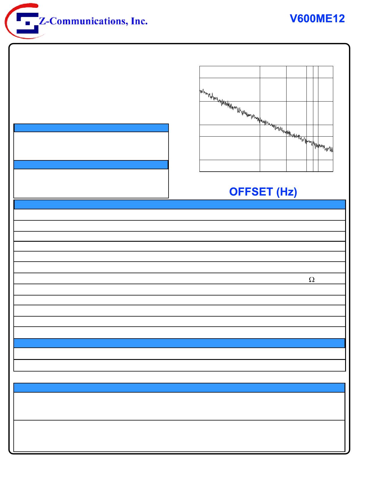 V600ME12 datasheet