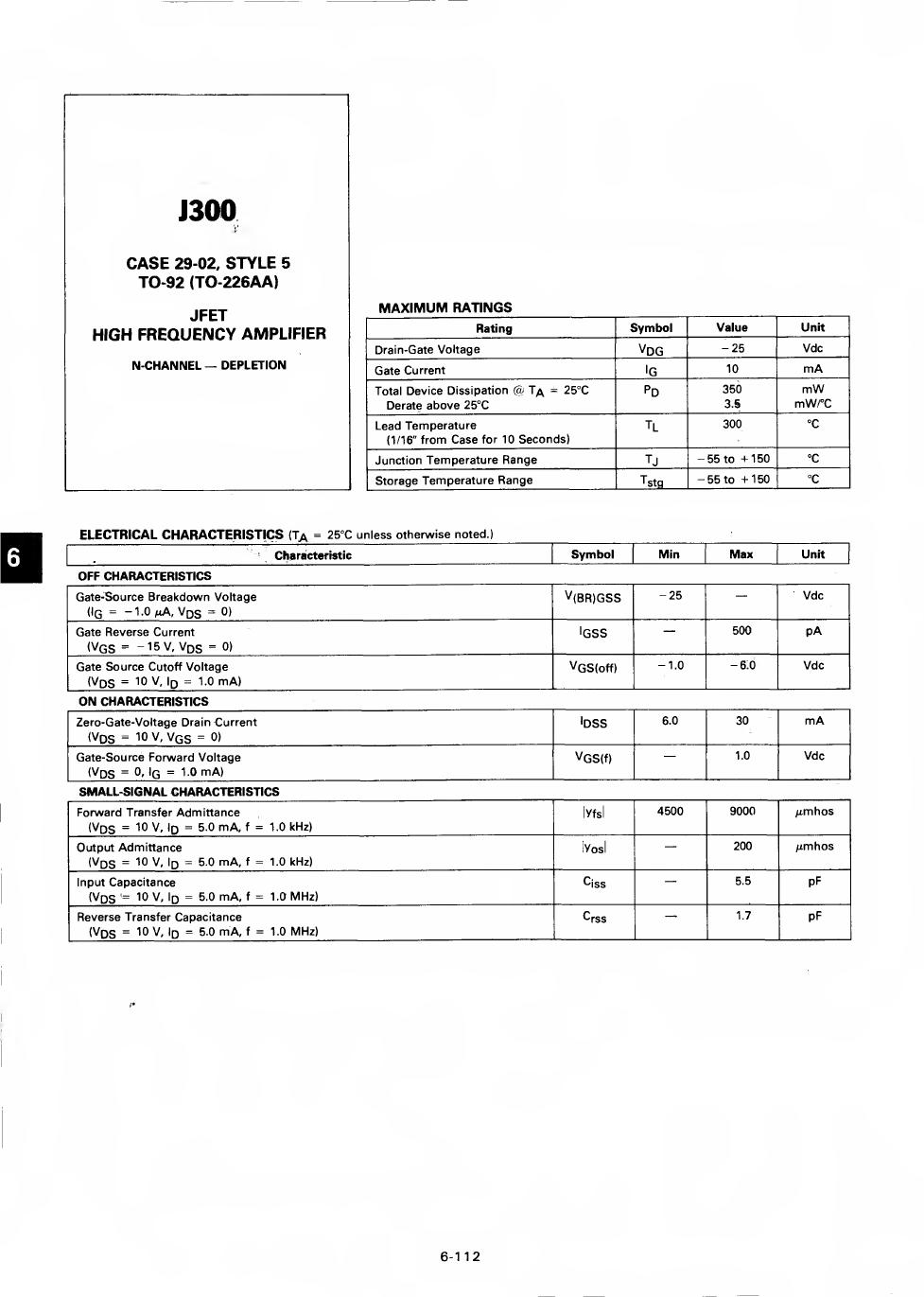J300 دیتاشیت PDF