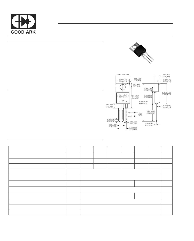 MUR1010CT datasheet